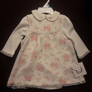 Sweet Floral Baby Dress / Jumper